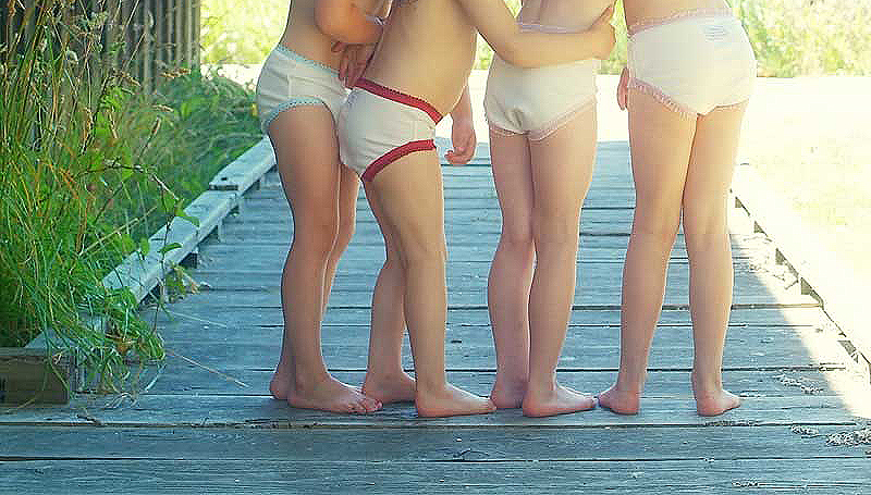 Little Girls Without Underwear Family Clothes