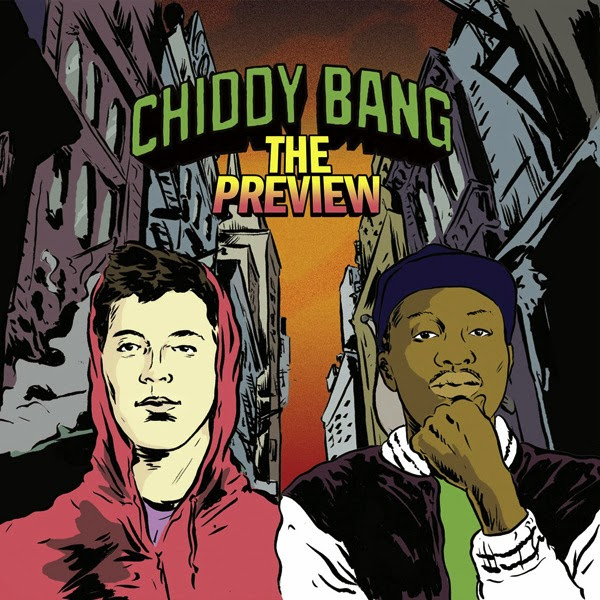 Chiddy Bang - The Preview Cover