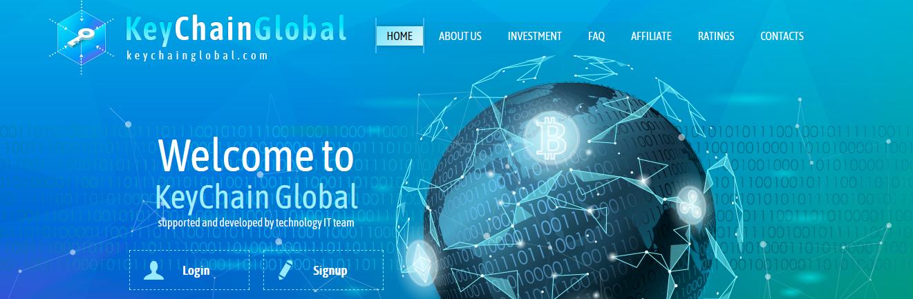 Мошеннический сайт keychainglobal.com – Отзывы, развод, платит или лохотрон?