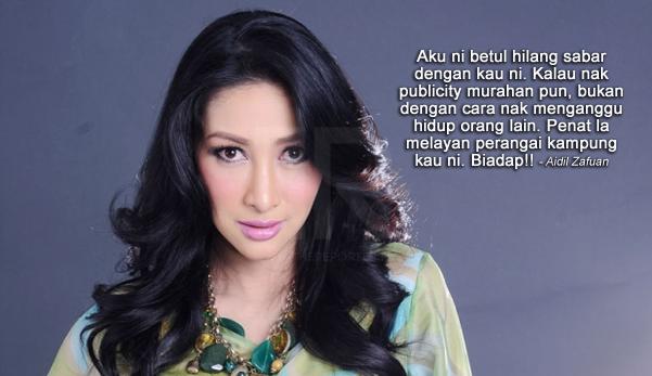 'Motif nak tulis macam ni, apa hal?' - Aidil Zafuan berang dengan komen Rita di Instagram