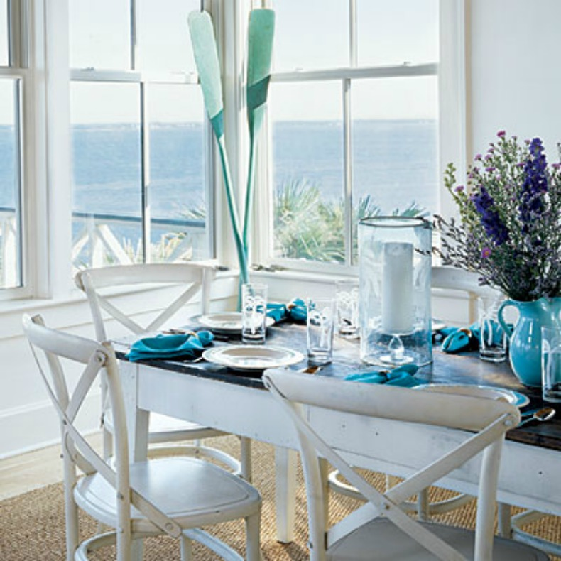 coastal living dining rooms inspirations on the horizon coastal dining room 16356