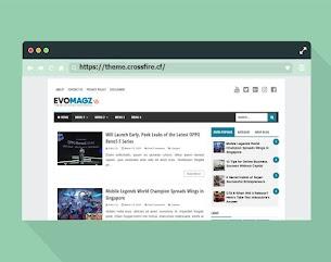 EvoMagz Blog Template v5.0 Responsive and SEO Friendly - Responsive Blogger Template