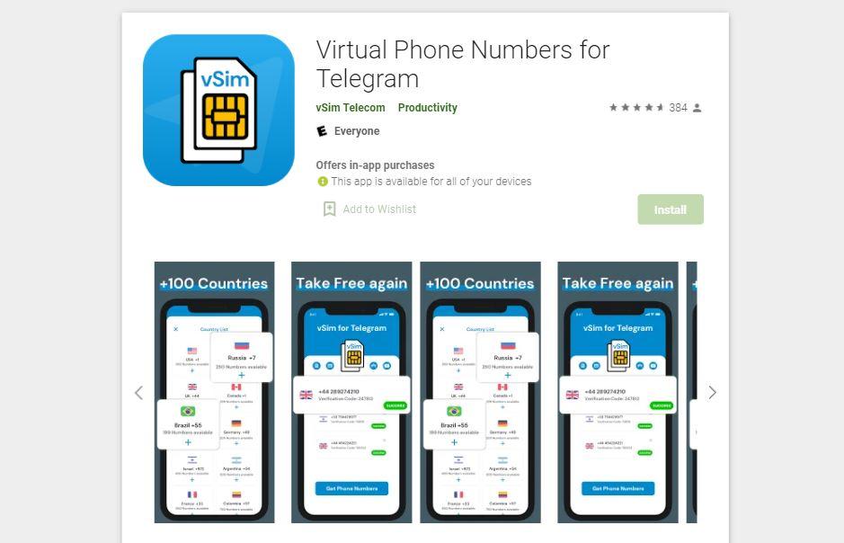 nomor hp virtual untuk telegram