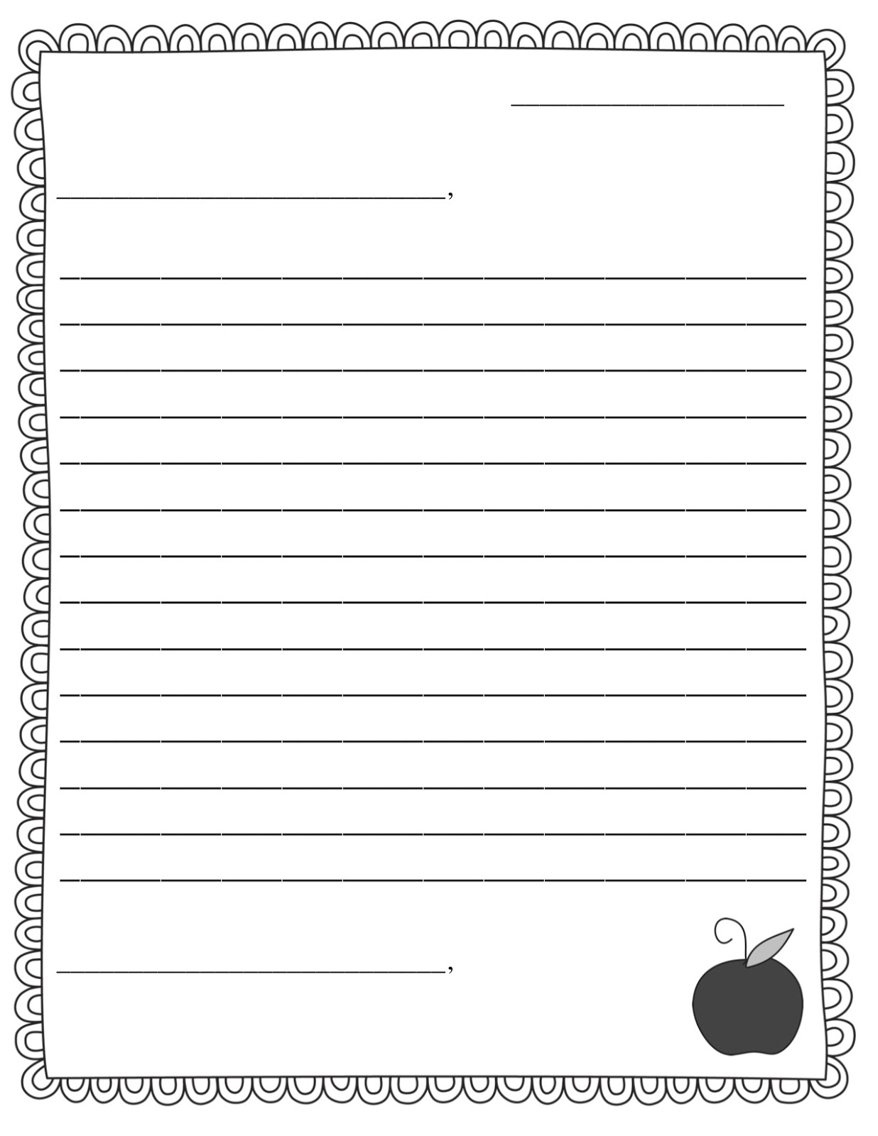 picture about Printable Friendly Letter Template referred to as PEN Close friend Information + Welcoming LETTER FREEBIE - Trainer Principle Manufacturing facility