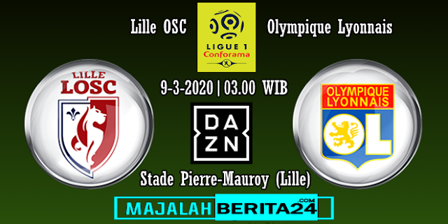 Prediksi Lille OSC vs Lyon