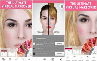YouCam Makeup PRO – Magic Selfie Makeovers v5.44.3 F.u.l.l Mod - Phần mềm tự sướng cho android