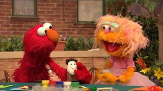 Zoe, Elmo, Rocco, Eggy, Sesame Street Episode 4322 Rocco's Playdate season 43