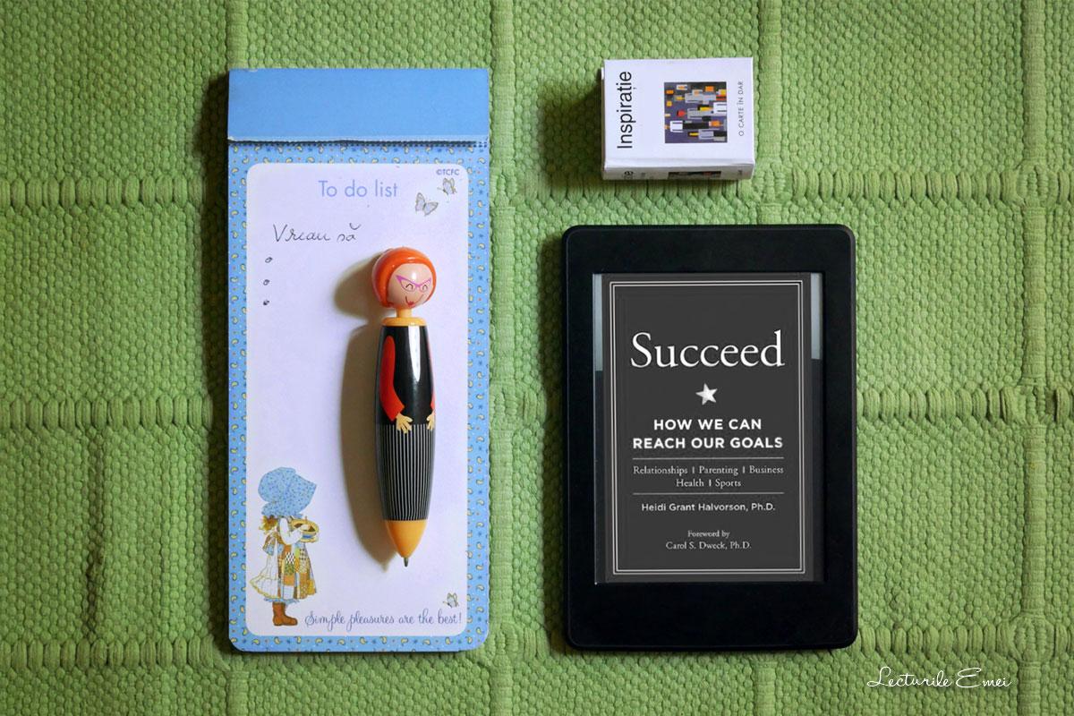 Succeed Heidi Grant Halvorson carte psihologie recenzie