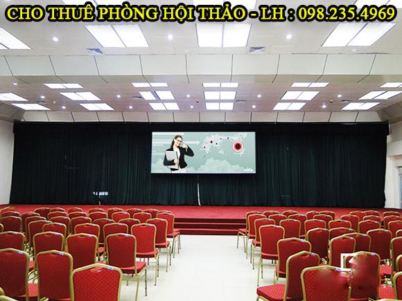 cho thuê phòng hội thảo 300 chỗ tại hà nội