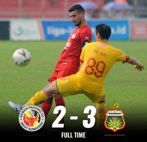 Semen Padang vs Bhayangkara FC 2-3 Highlights