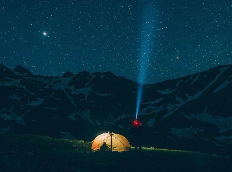туристический фонарь для похода