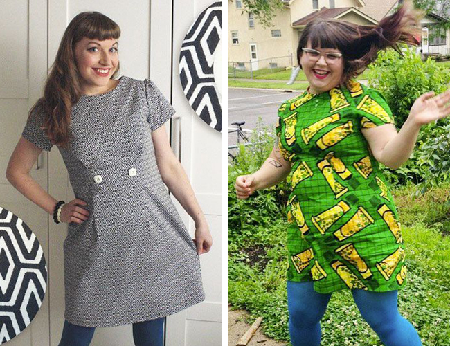 Megan dress - sewing pattern in Love at First Stitch