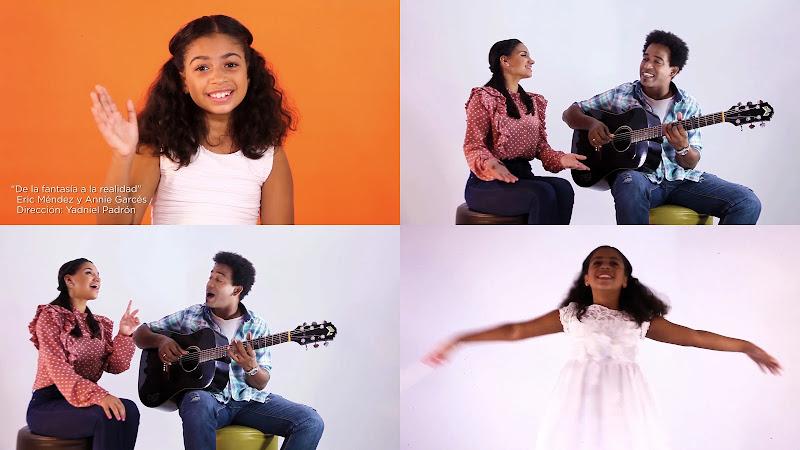 Eric Méndez & Annie Garcés - ¨De la fantasía a la realidad¨ - Videoclip - Director: Yadniel Padrón. Portal Del Vídeo Clip Cubano