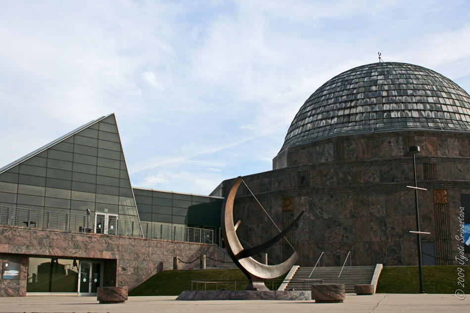 Public Art in Chicago: Museum Campus: Adler Planetarium