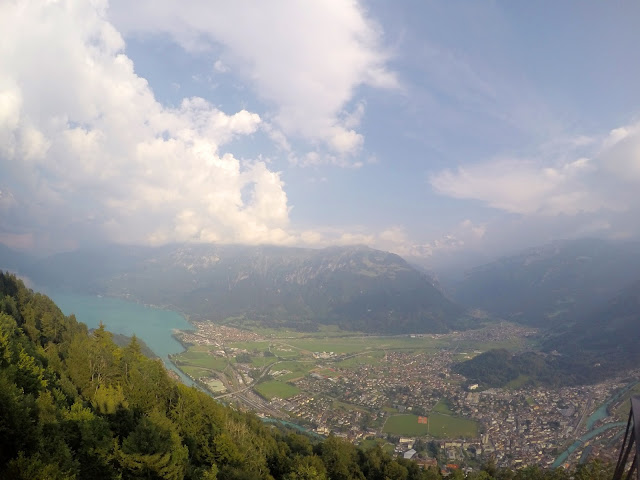 Harder Kulm, Alps, Swiss Alps, Bernese Alps, Jungfrau, Eiger, Monch, Hiking in Switzerland, Easy Hikes, hike, mountain, view, Interlaken, dream, funicular, Harder Kulm, Unterseen, Aare, Thun, Brienz, how to get up Harder Kulm,