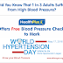 Did you know that 1 in 3 adults suffer from high blood pressure?