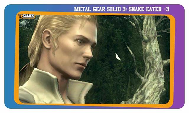 لعبة METAL GEAR SOLID 3: SNAKE EATER