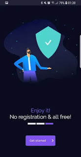 unlimited secure hotspot proxy vpnify Screenshot