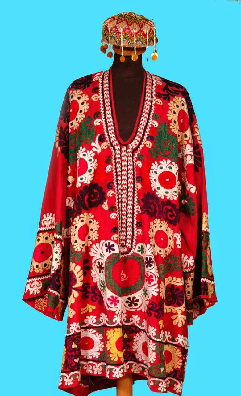 Local Style Traditional Embroidery Of The Republics Of