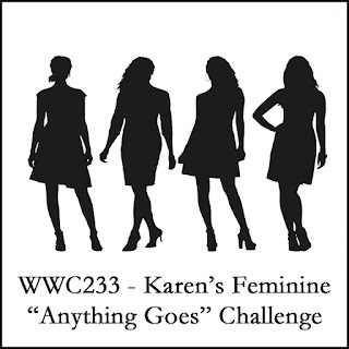 https://watercoolerchallenges.blogspot.com/2019/08/wwc233-karens-feminine-anything-goes.html