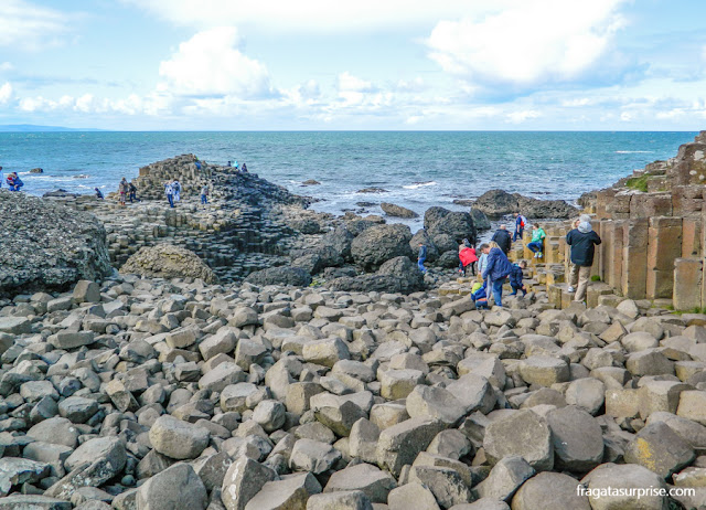 Irlanda do Norte - Giant's Causeway