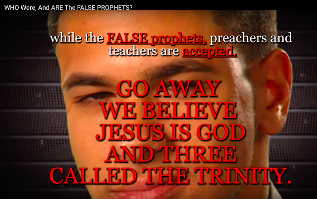 FALSE prophets, preachers and teachers are accepted.