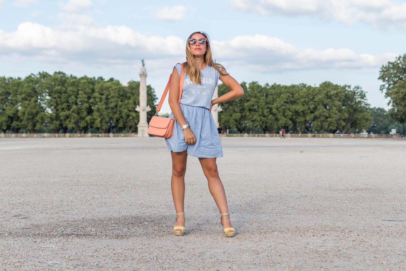 blog mode tenue du jour pastel