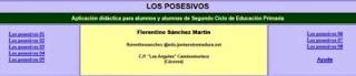 http://cplosangeles.juntaextremadura.net/web/lengua4/losposesivos/indice.htm