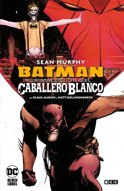 Reseña de Batman: La Maldición del Caballero Blanco de Sean Murphy - ECC Ediciones