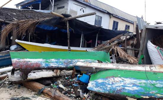 BREAKING NEWS : Pasca Gelombang Pasang, Ini Informasi ,Dari Pulau Rajuni