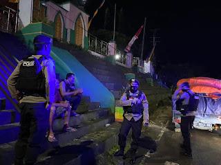 Unit Patmor Satuan Sabhara Polres Enrekang tingkatkan Patroli Biru