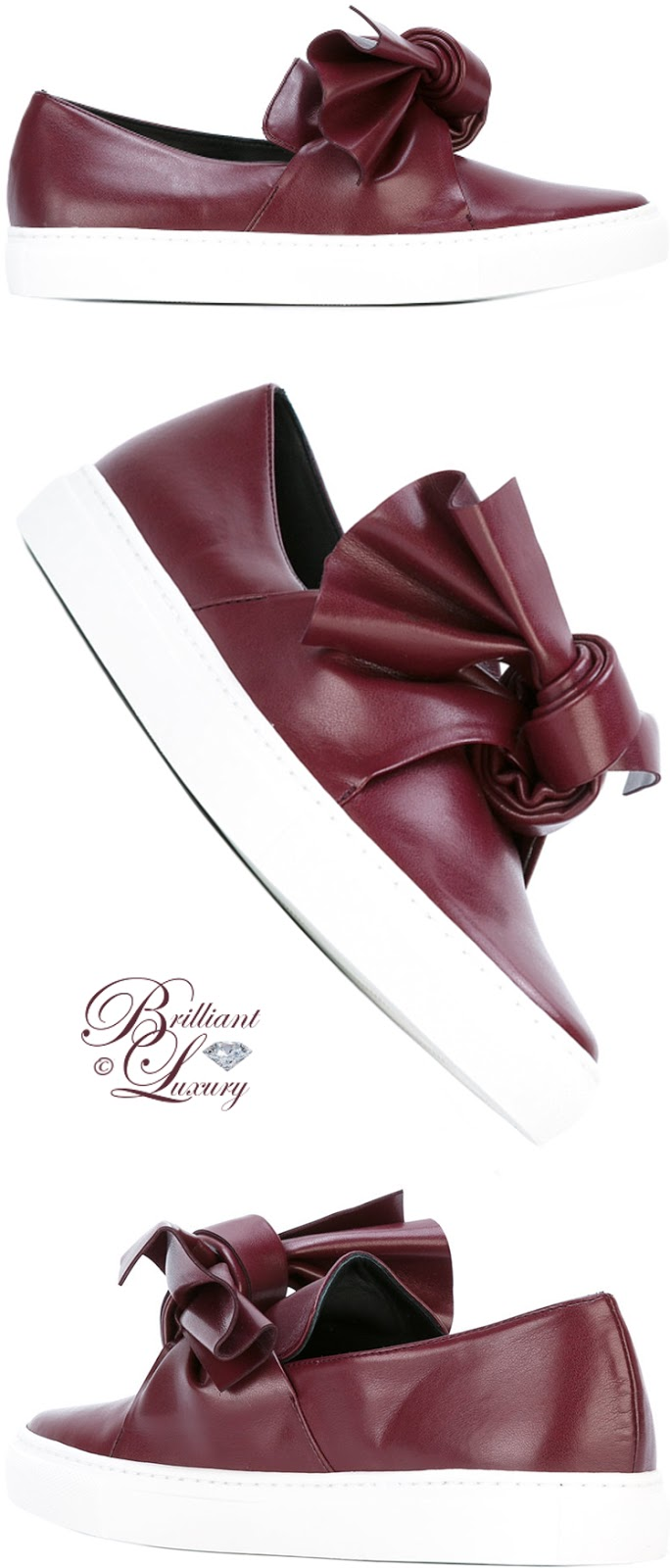 Brilliant Luxury ♦ Cédric Charlier Tie Knot Sneakers