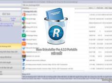 Tải Revo Uninstaller Pro 4.4.0 Portable mới nhất + Auto Update