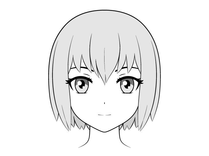 Gambar wajah anime