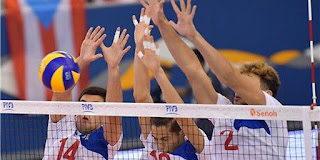 Egypt's youth volleyball team