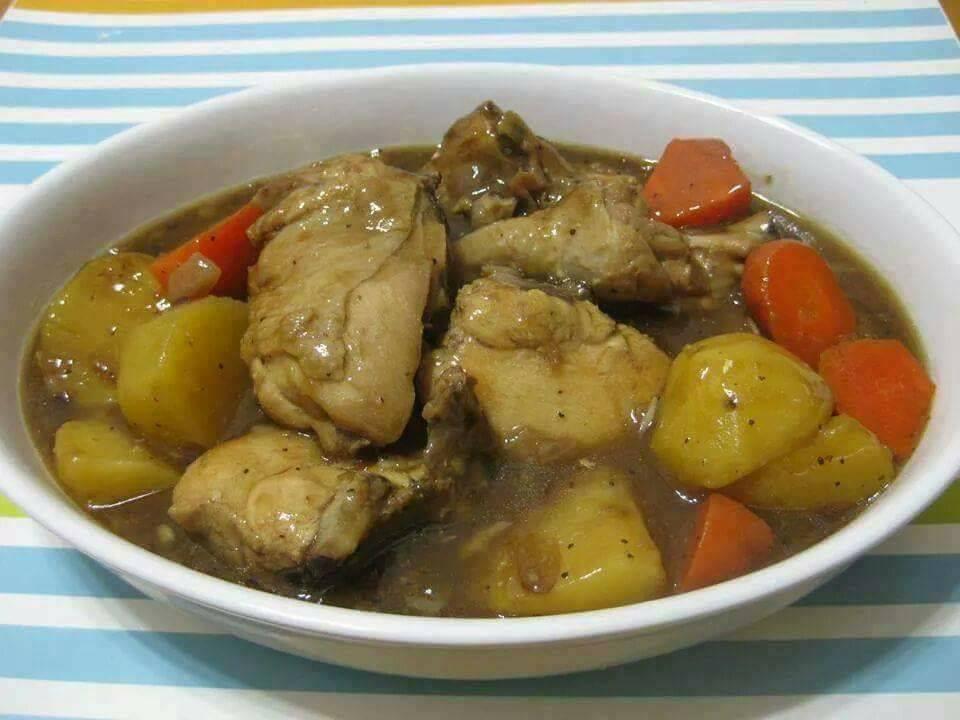 resepi ayam masak stew mudah  sedap  daily resepi viral terkini Resepi Ayam Masak Negro Enak dan Mudah