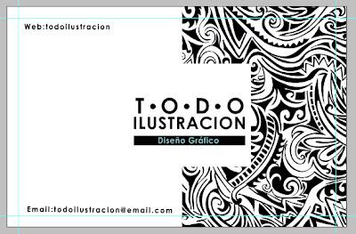 crear una tarjeta personal elegante