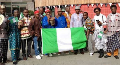 Nigerian Students in Ukraine