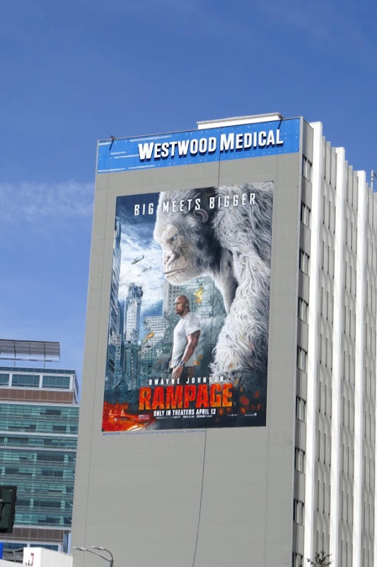 Giant Rampage film billboard