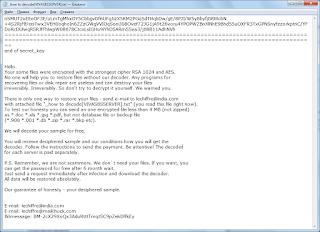LeChiffre Ransomware шифровальщик, шифратор