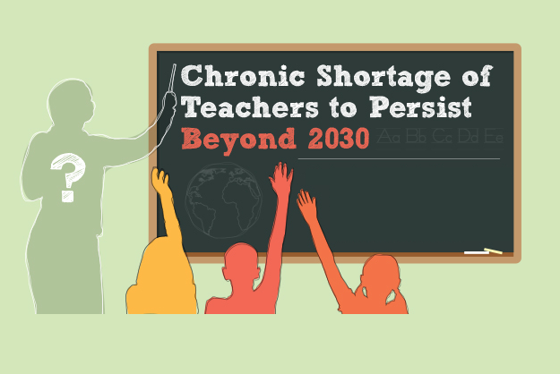 Chronic Shortage Of Teachers To Persist Beyond 2030  #Infographic