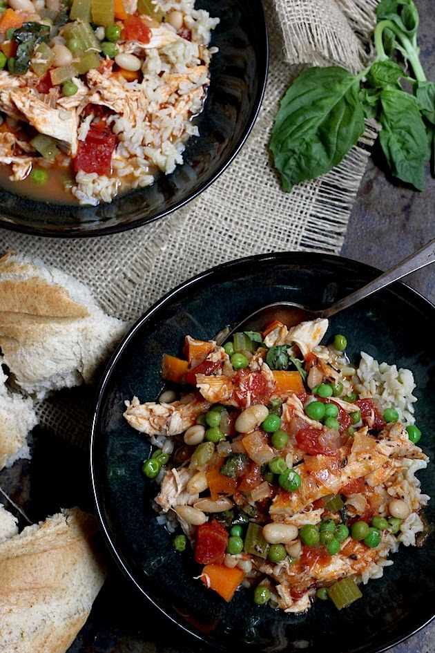 Weeknight Meal: One Pot Chicken Stew