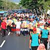 Ribuan Peserta Jalan Santai Peringati Diesnatalis UNHAS Ke-63 di Lepas Gubernur NA