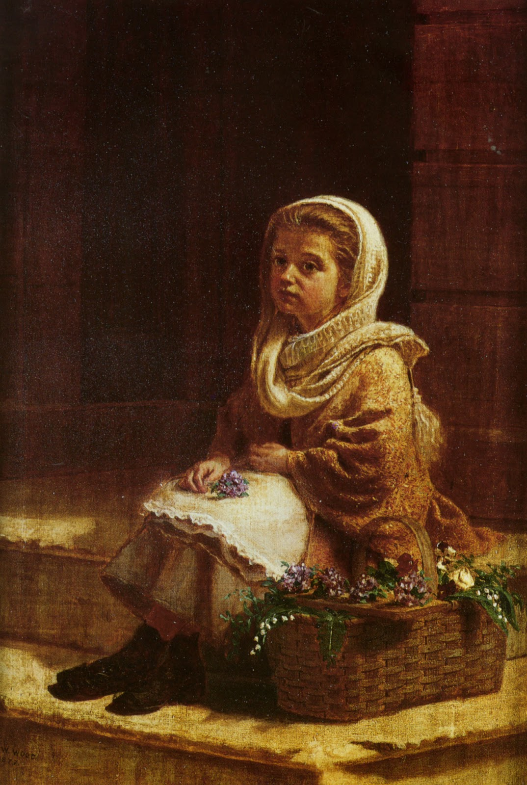 Frank Holl: Victorian painter is Emerging from the Shadows ...  Victorian Painting Portrait Artists