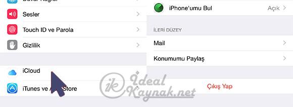 iPhone Restore İşlemi ile Sıfırlama