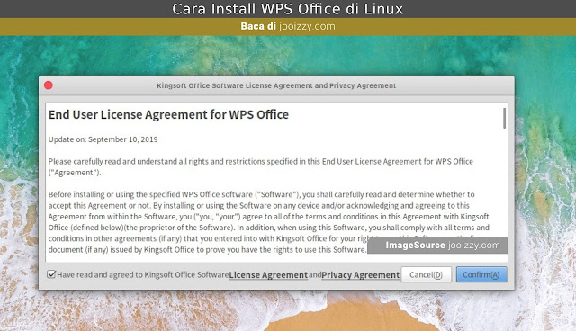 WPS Office License Agreement