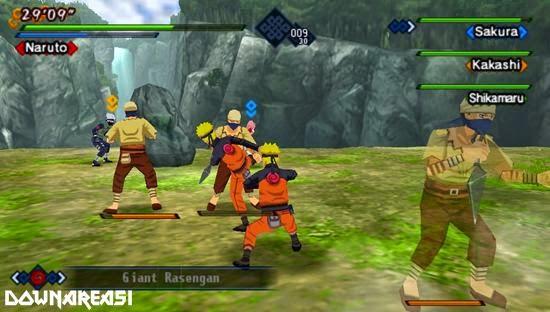 Naruto Shippuden Kizuna Drive PSP Game