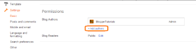 How to Add Another Author on Blogger