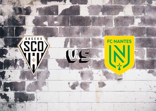 Angers vs Nantes  Resumen