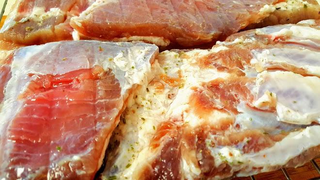 Poitrine de porc demi-sel